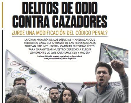 APERTURA DELITO ODIO CAZADORES